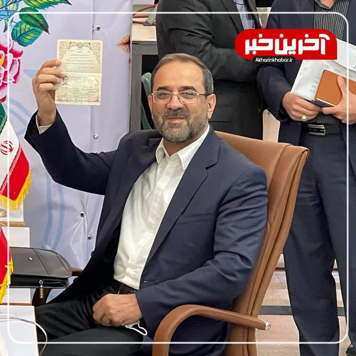 وزیر احمدینژاد به نفع رئیسی کنار کشید