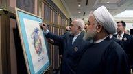 توئیت ظریف در پایان سفر رئیس جمهور به ژاپن