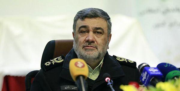 فرمانده ناجا: عملکرد پلیس در حوادث اخیر مقتدرانه و هوشمند بود