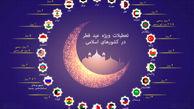 در عید فطر باقی کشور ها چند روز تعطیل هستند