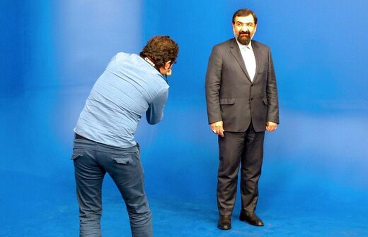 محسن رضایی در بدو ورود به سالن مناظرات چه گفت