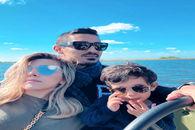 عکس خصوصی رضا قوچان نژاد و همسرش در ساحل خارج از کشور