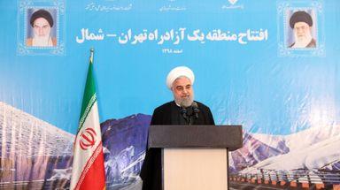 افتتاح منطقه یک آزادراه تهران - شمال