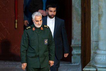 دقایق آخر حضور سردار سلیمانی در بغداد از زبان یک منبع عراقی