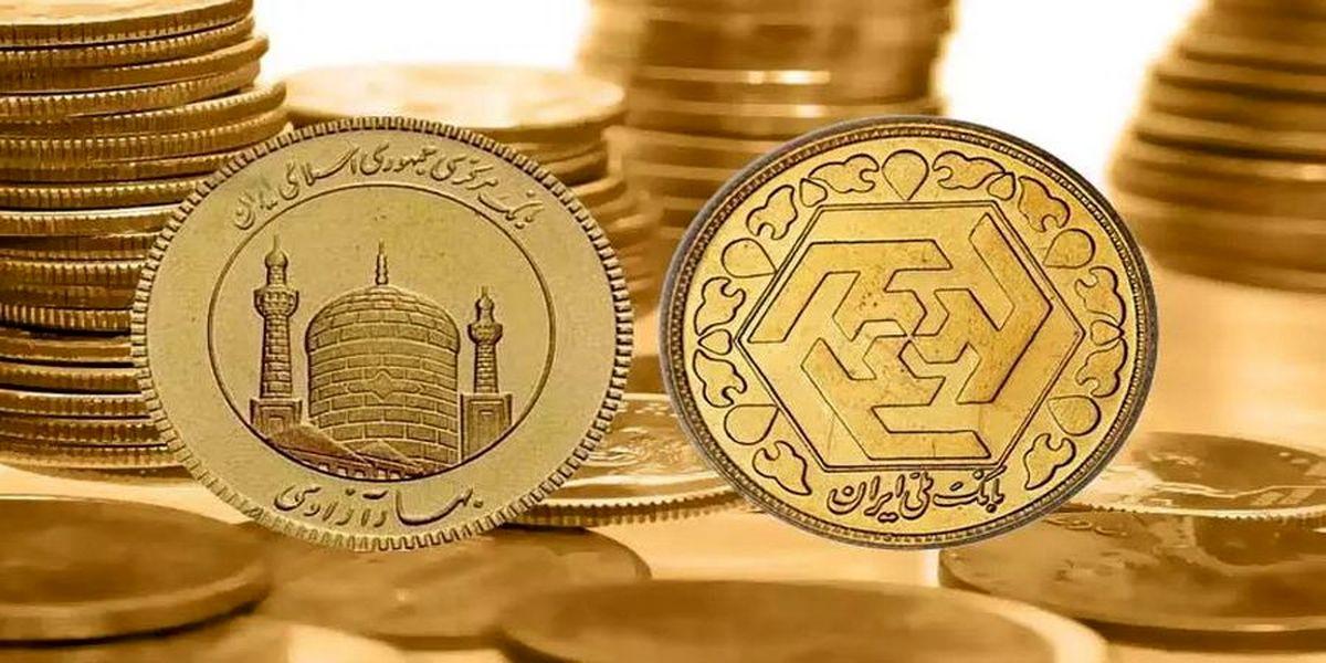 ورود قیمت سکه به کانال بالاتر! طلا گران شد