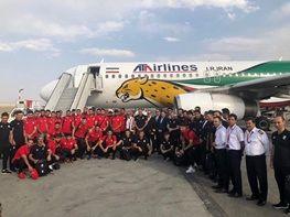 توضیح هواپیمایی آتا درباره استفاده تجاری از هواپیمای تیم ملی