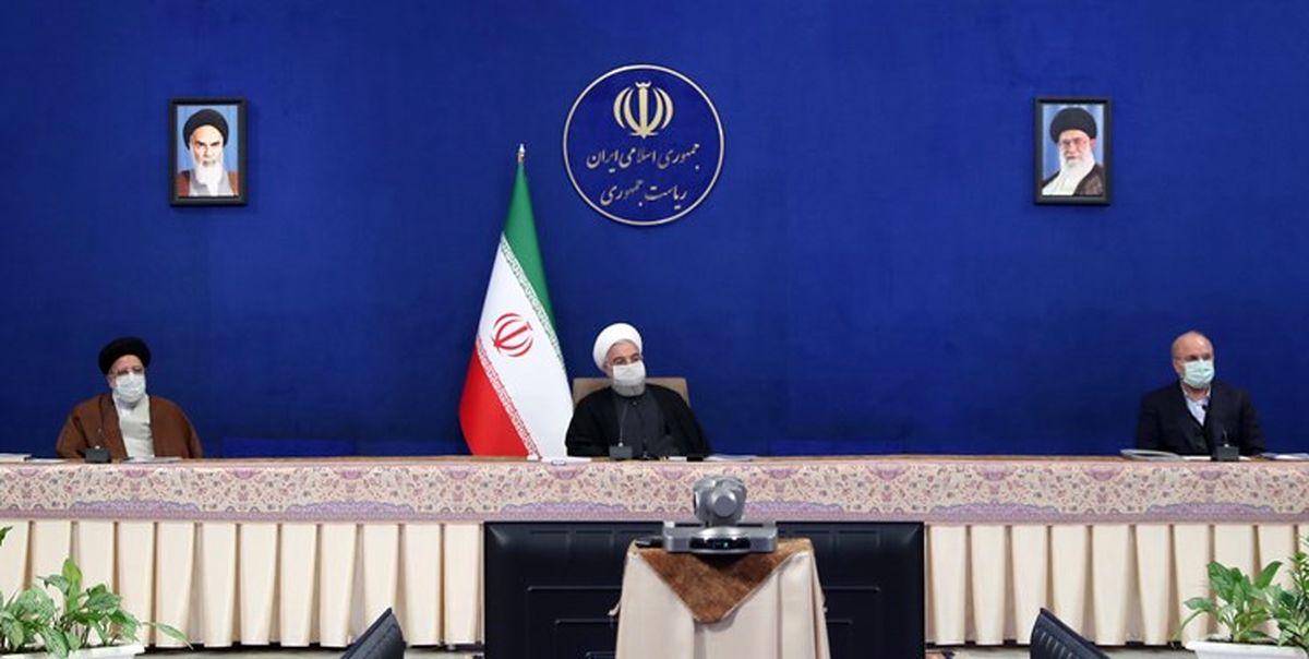 جلسه اقتصادی روحانی، رئیسی و قالیباف