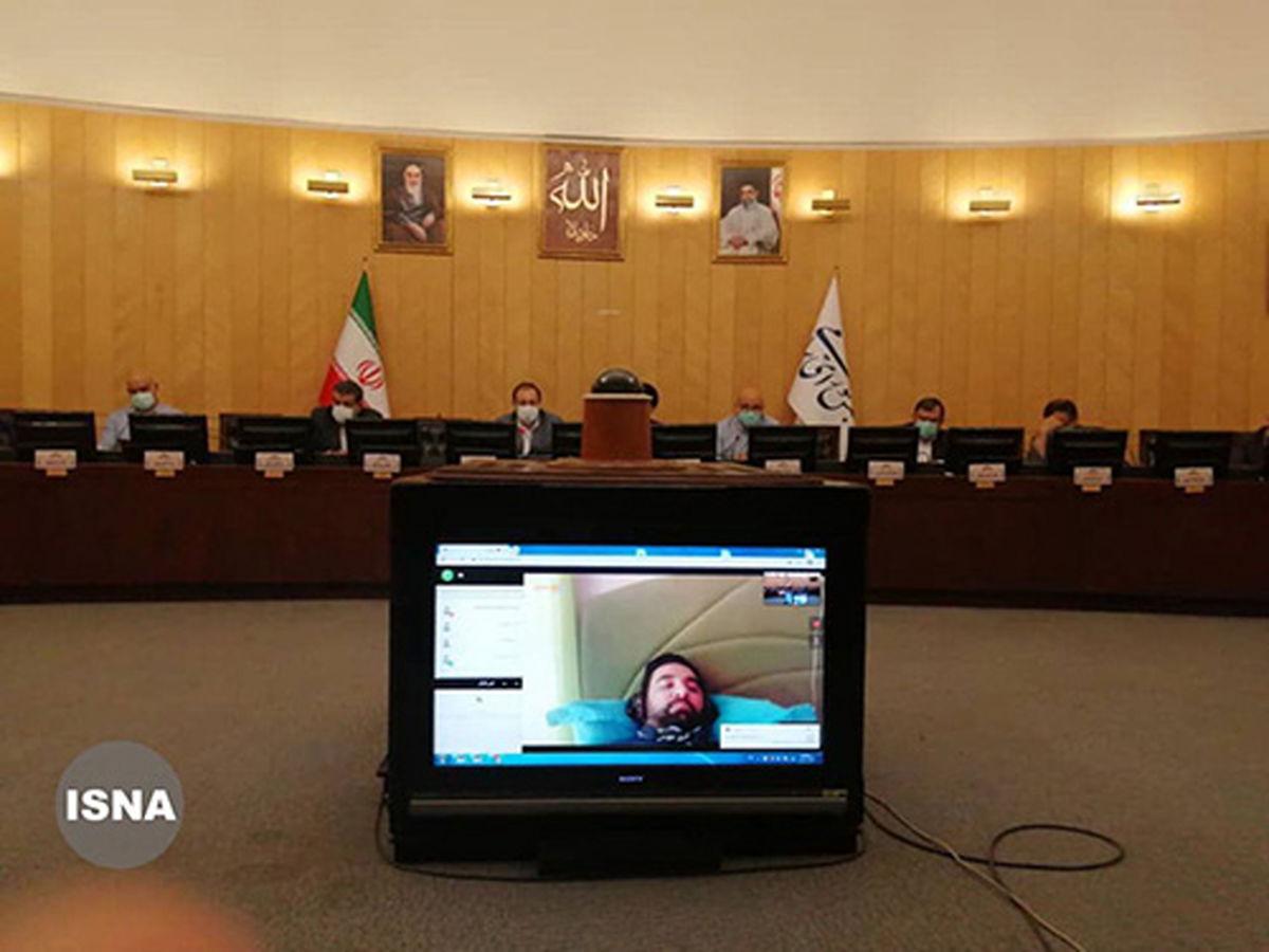 وضعیت عجیب آذری جهرمی در جلسه مجمع نمایندگان مجلس
