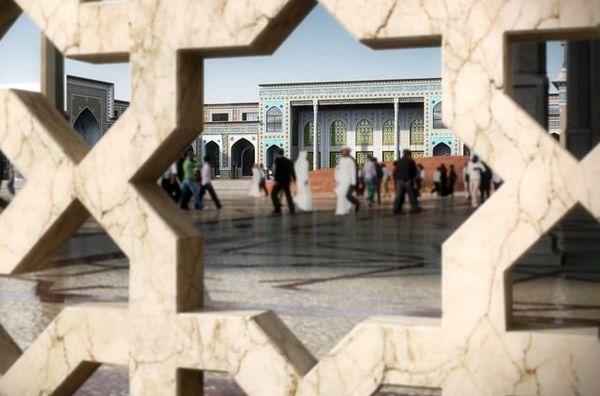 تصاویر جدید از طراحی نهایی مقام تل زینبیه در کنار بارگاه سیدالشهداء (ع)