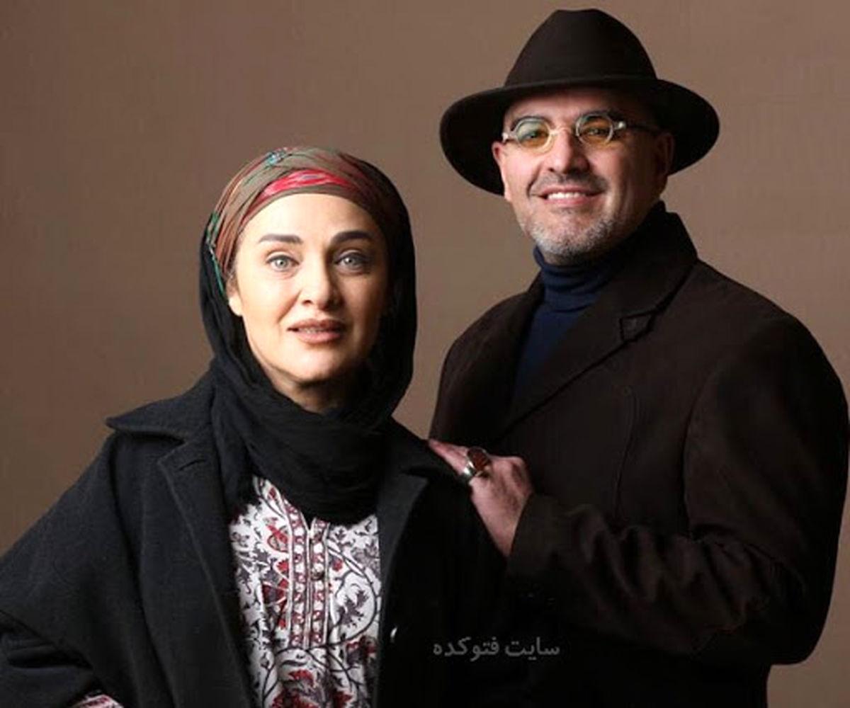 عکس و بیوگرافی رویا نونهالی و همسرش