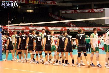 زمان بازی والیبال ایران