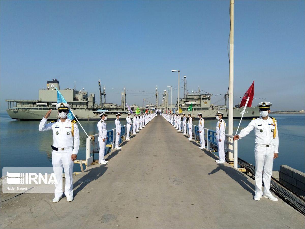 ناوگروه هفتاد و ششم نیروی دریایی ارتش راهی آبهای آزاد شد