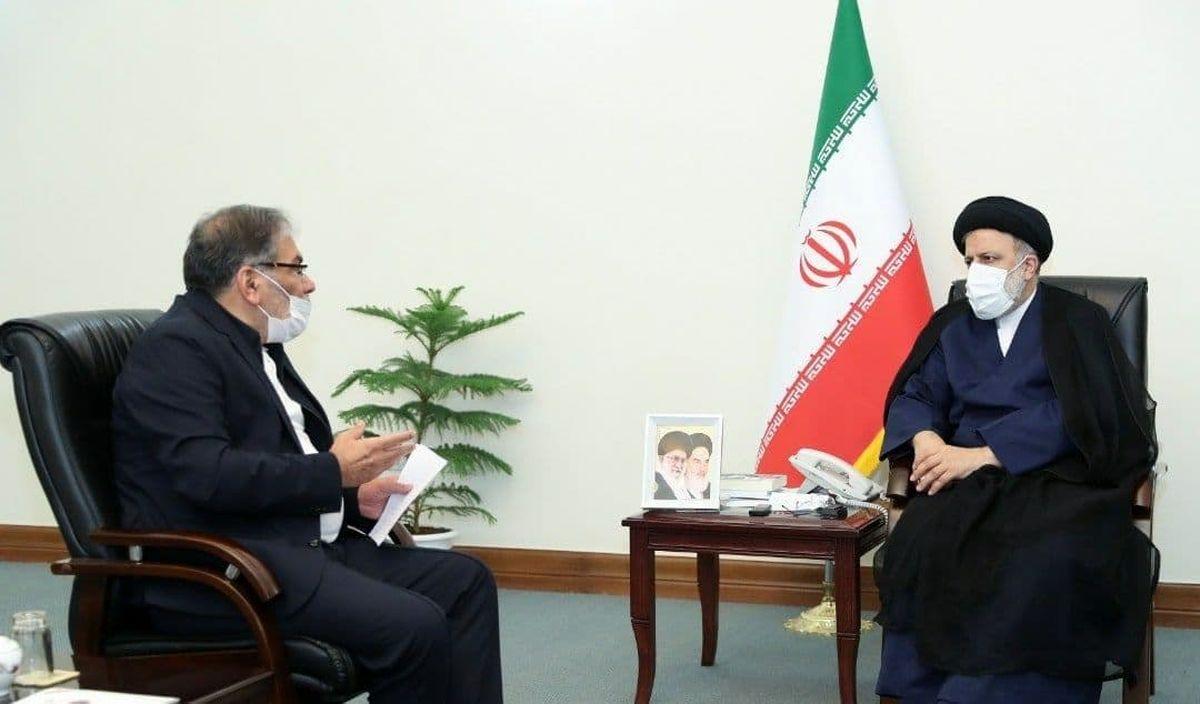 گزارش دبیر شورای عالی امنیت ملی به رئیس جمهور منتخب