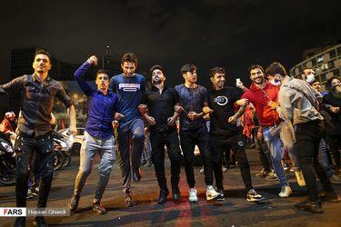 جشن و پایکوبی هواداران پرسپولیس