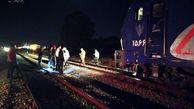 گزارش تصویری/ حادثه ریلی در راه آهن شاهرود