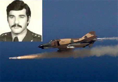 ماجرای خلبانی که پس از سقوط در خلیج فارس اسیر حمله ماهی ها شد + عکس