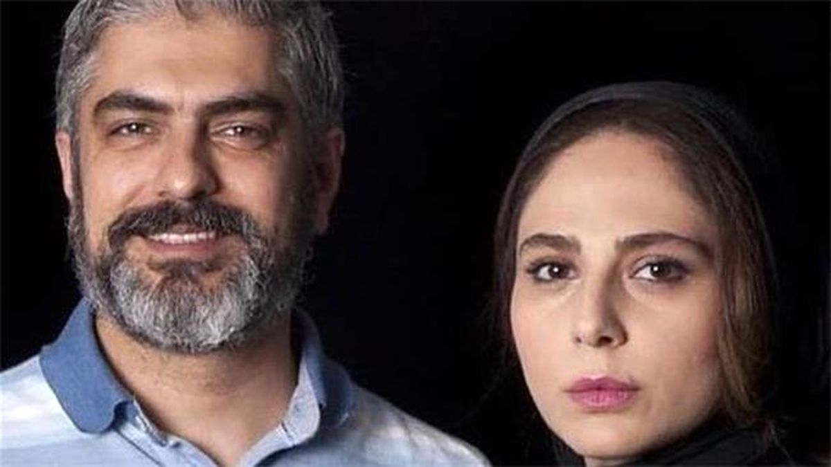 عکسی متفاوت از مهدی پاکدل و رعنا آزادی همسر دومش +تصاویر دونفره
