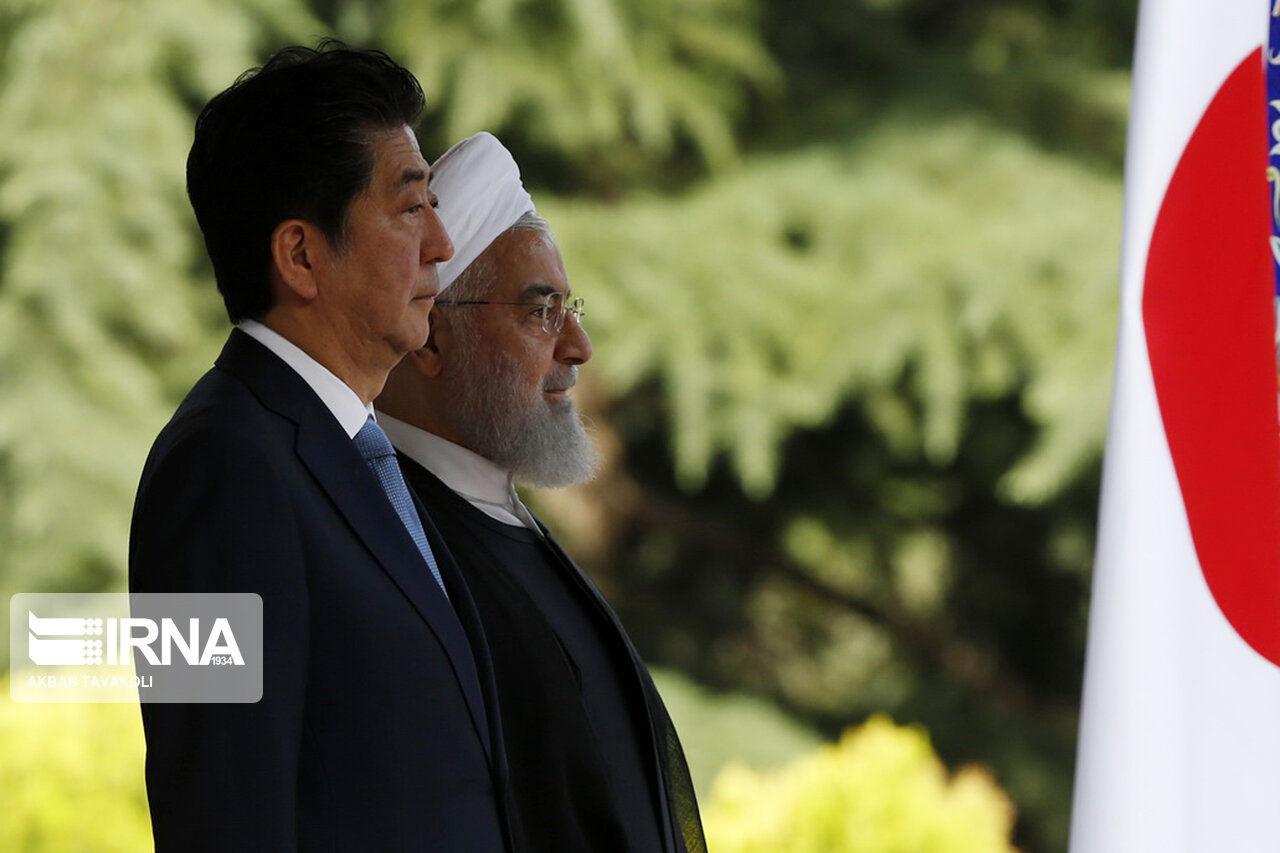 گزارش تصویری/ استقبال رسمی ایران از نخست وزیر ژاپن