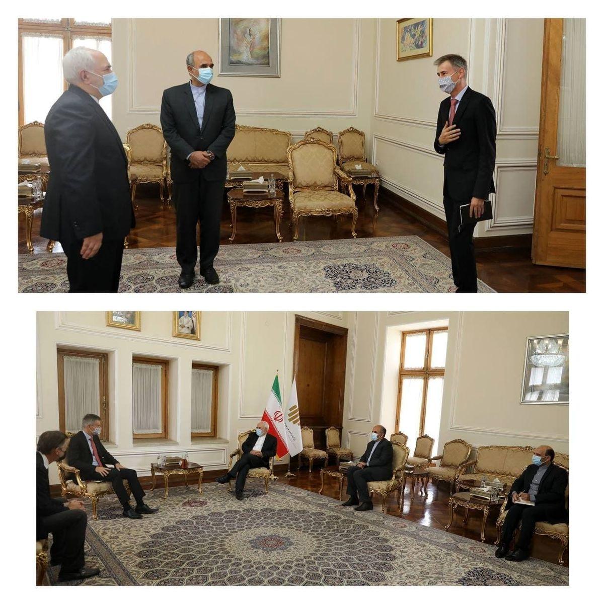 پایان ماموریت سفیر سوئیس در تهران؛ لایتنر با ظریف خداحافظی کرد