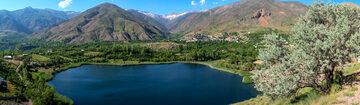 گزارش تصویری/ دریاچه اوان زیبا
