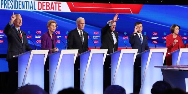 نامزد های دموکرات: ترامپ مقصر است و باید به برجام برگردد