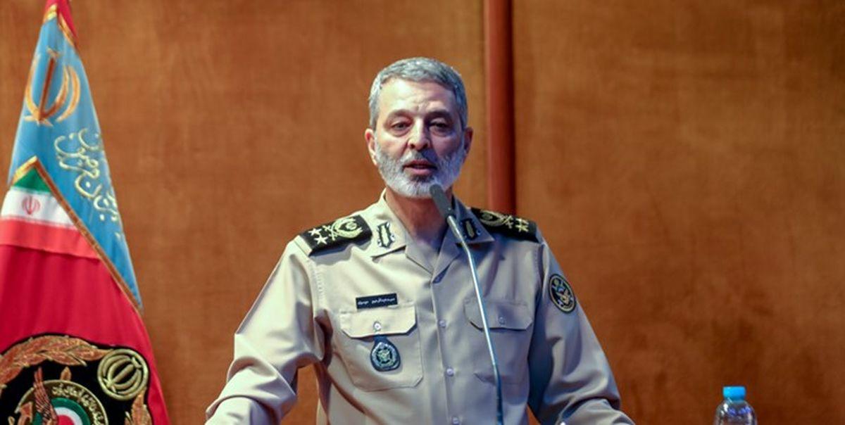 پاسخ فرمانده ارتش به یاوه گوییهای سردمداران رژیم صهیونیستی