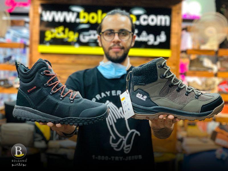 انواع کفش کوهنوردی اصل