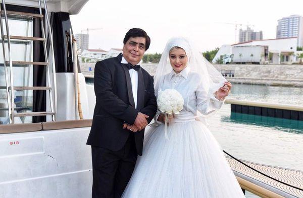 عروسی سحر قریشی و رضا شفیعی جم در کیش/ عکس