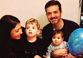 استراماچونی خانواده اش را در تهران می بیند