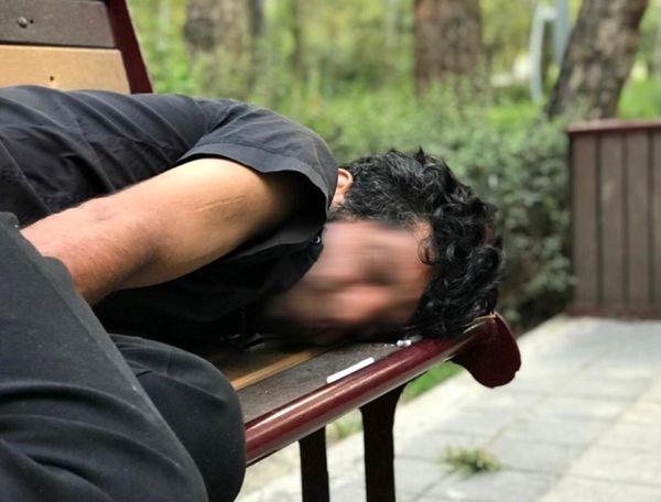 تصاویر معتادان و نیمکت خواب هایی که از پارک لاله تخلیه شدند
