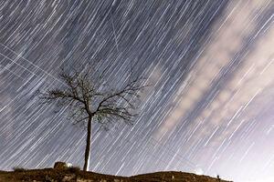 دوشنبه ایران شهاب باران می شود