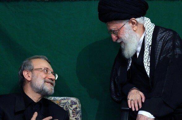 رهبر انقلاب جویای حال علی لاریجانی شدند