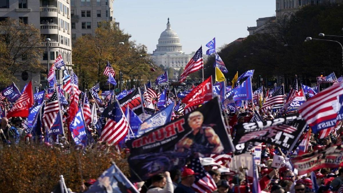 ترامپ: مردم آمریکا تقلب در انتخابات را تحمل نخواهند کرد!