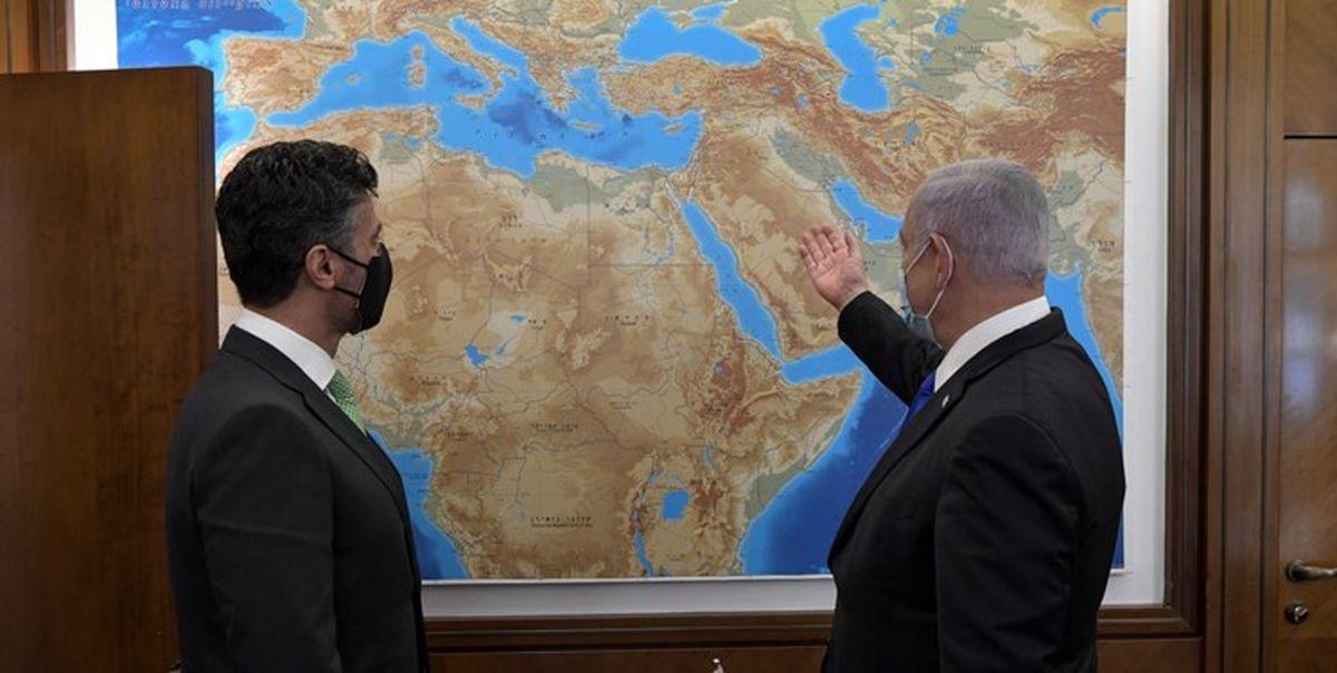 نتانیاهو در دیدار سفیر امارات: چهره خاورمیانه را تغییر میدهیم