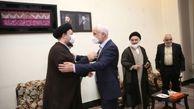 دیدار و گفتگوی مهرعلیزاده با سیدحسن خمینی درباره انتخابات