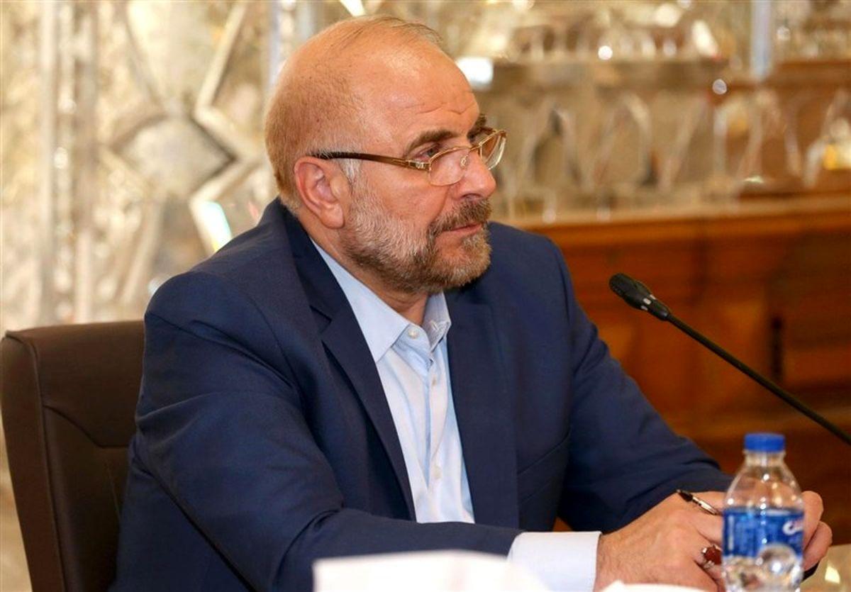قالیباف انتصاب رئیس جدید قوه قضاییه را تبریک گفت