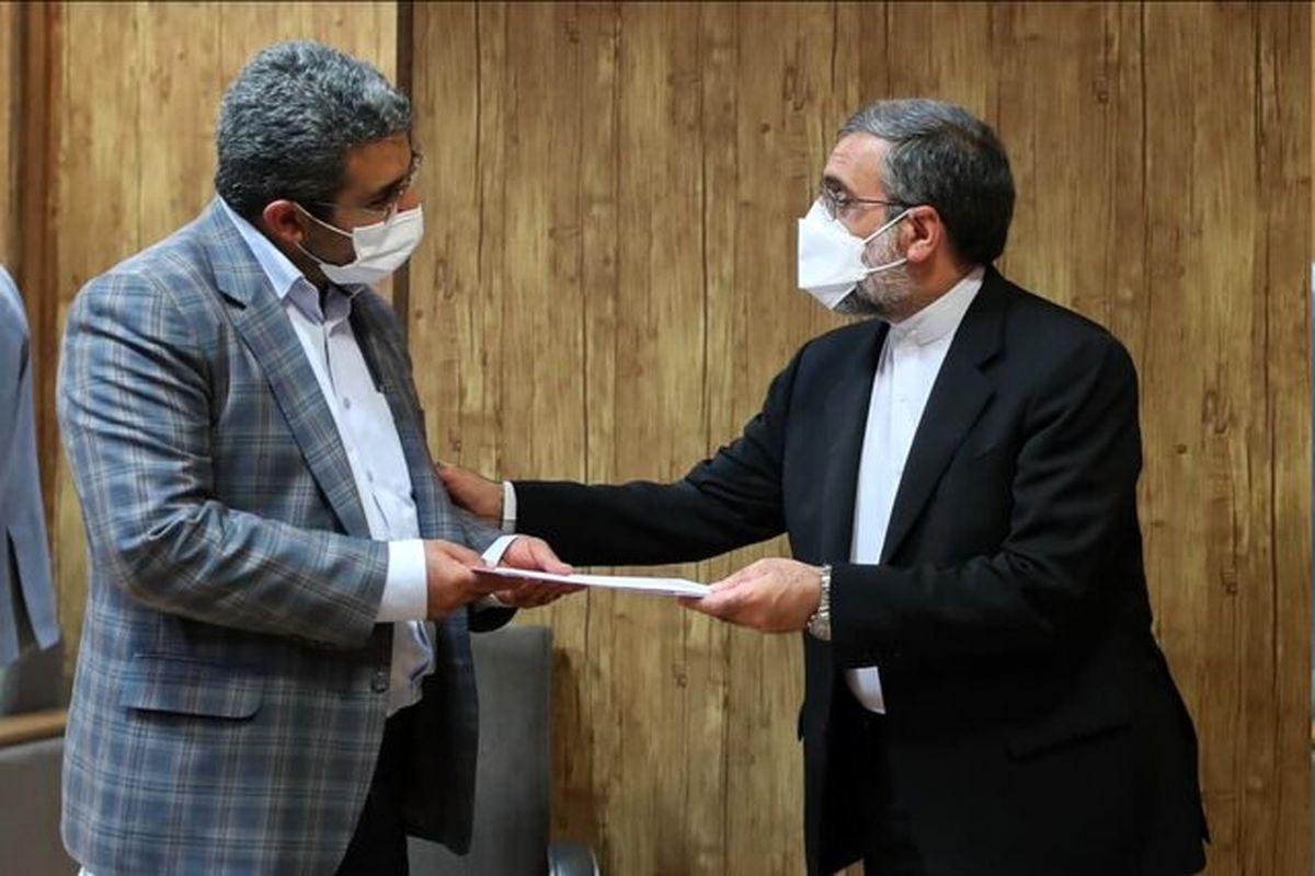 هنرمند معاون ارتباطات و اطلاع رسانی دفتر رئیس جمهور شد