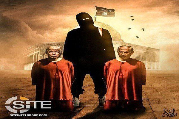 داعش ترامپ و نتانیاهو را تهدید به قتل کرد