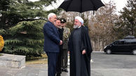 استقبال رسمی رئیسجمهور از نخستوزیر ارمنستان با حضور ظریف