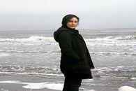 عکس خاص حدیثه تهرانی در کنار دریا