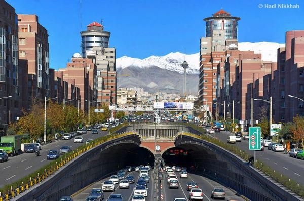 کیفیت هوای تهران امروز چگونه است؟(13 مرداد 99)