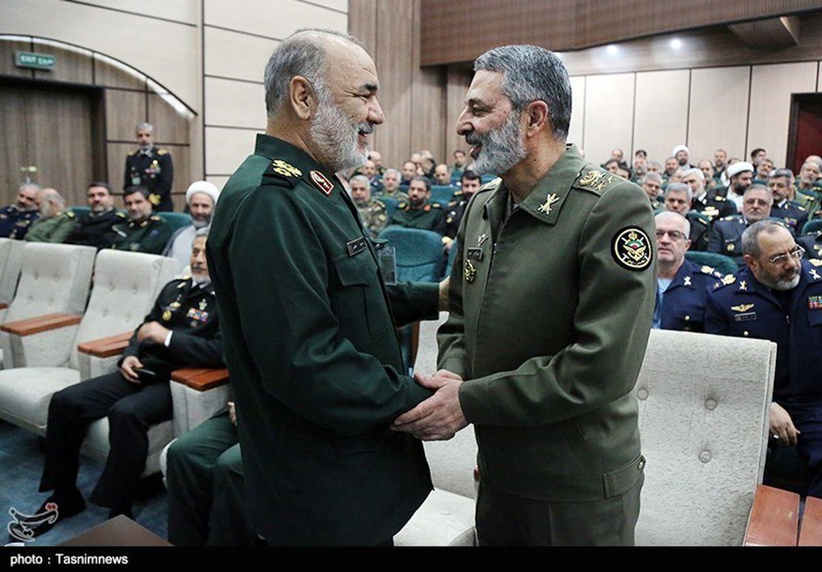 فرمانده کل ارتش و سپاه به مجلس میروند