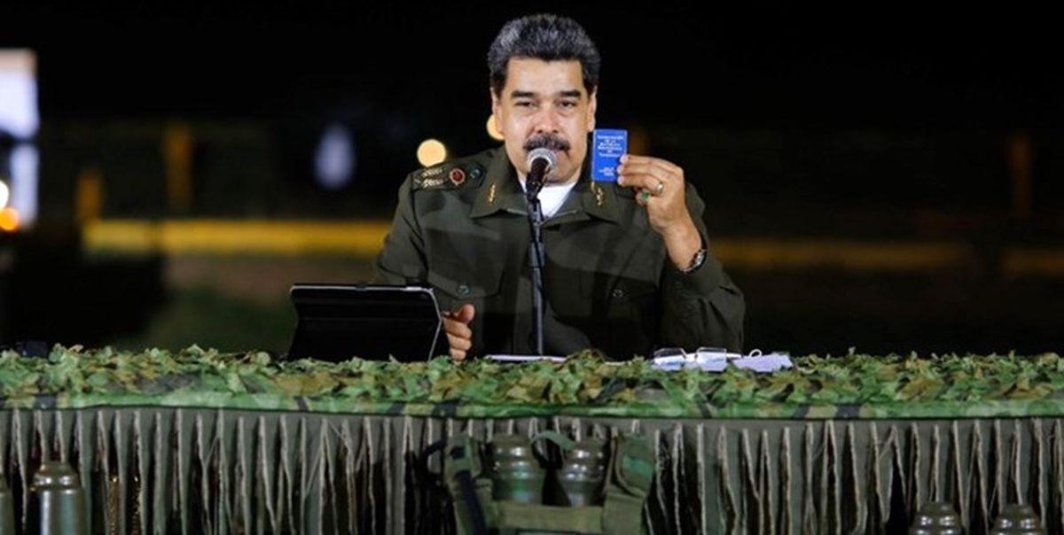 مادورو: خرید موشک از ایران ایده بسیار خوبی است