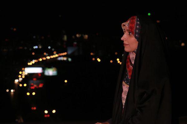 حال و هوای مژده لواسانی در شب قدر + عکس