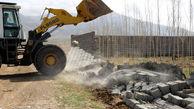 تخریب پنج بنای غیر مجاز در شهرستان قزوین