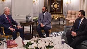دیدار ولیعهد عربستان با بیل کلینتون در نیویورک