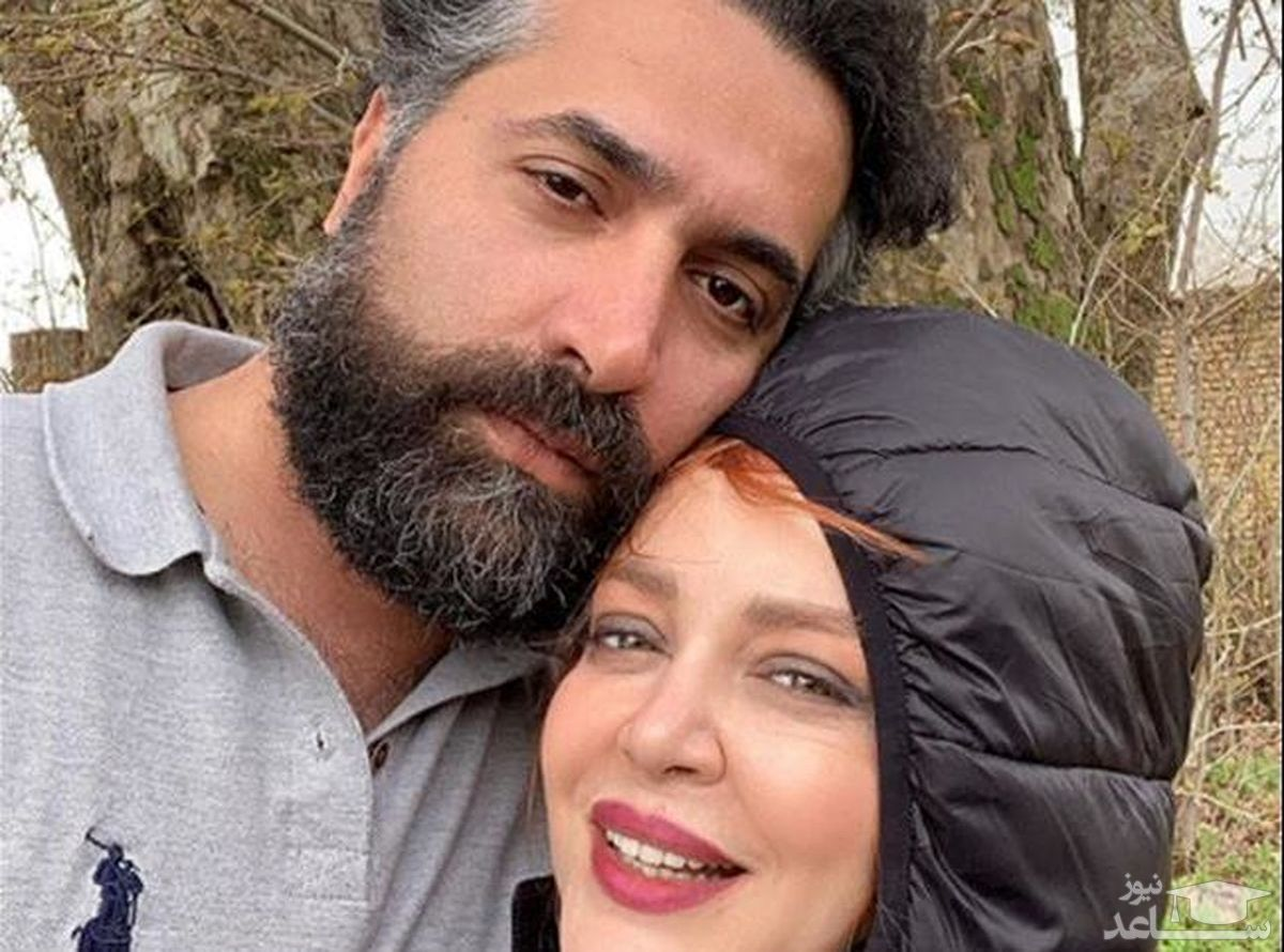 پیمان قاسم خانی شوهر سابق بهاره رهنما با عشق جدیدش!عکس