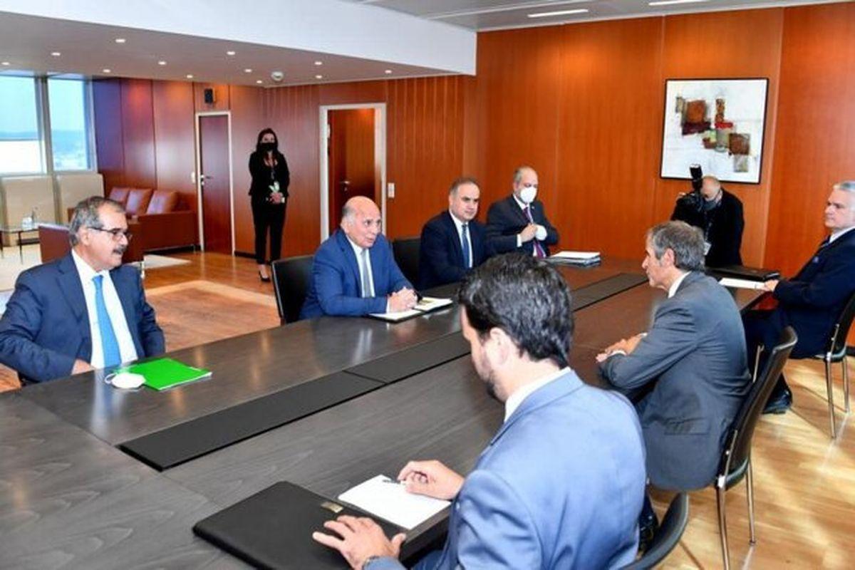 تاکید وزیر خارجه عراق و گروسی بر لزوم احیای برجام