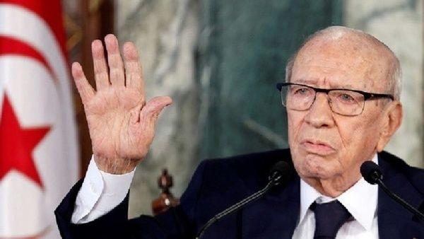 انتقال رئیسجمهوری تونس به بیمارستان نظامی