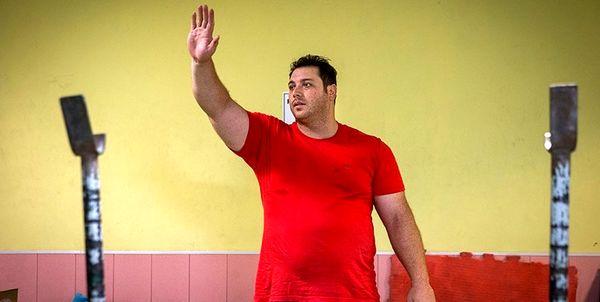 علیحسینی مسابقات جهانی وزنهبرداری را از دست داد
